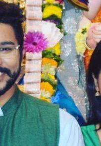 Suyash Tilak and Shruti Atre from Baapmanus