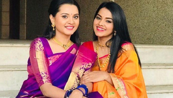 The real life sister-duo Khushboo and Titeeksha Tawde.