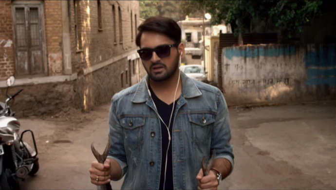Siddharth Chandekar from the movie Gulabjaam.