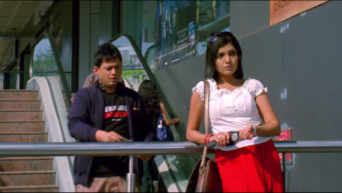 Mumbai Pune Mumbai actors Swapnil Joshi and Mukta Barve in a still from the film.