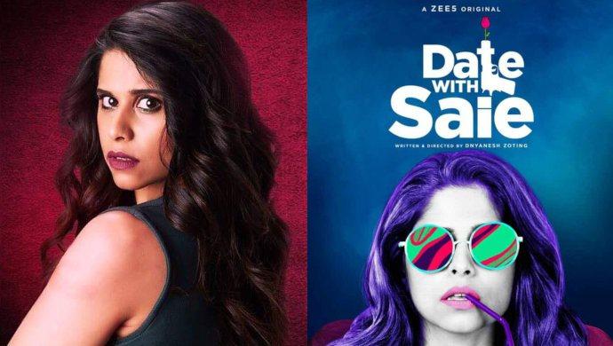 Poster Of ZEE5 Original Series Date With Saie Featuring Saie Tamhankar
