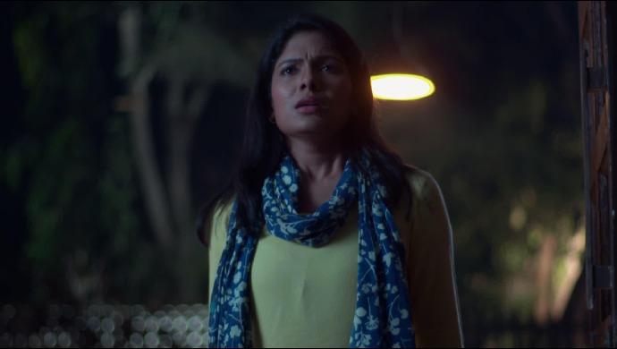 Gargee scared from Ek Ghar Mantarlela