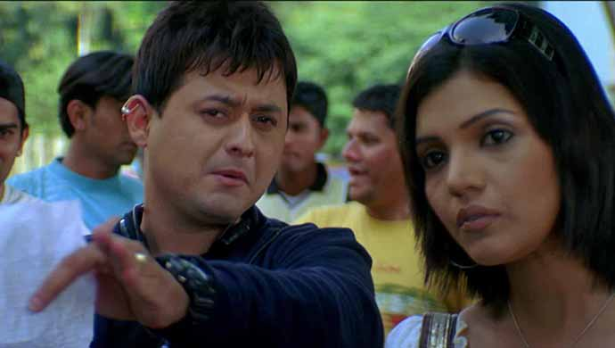 Mukta Barve and Swapnil Joshi from Mumbai Pune Mumbai.