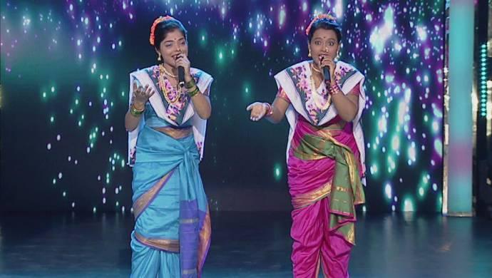 Scene from Yuva Singer Ek Number