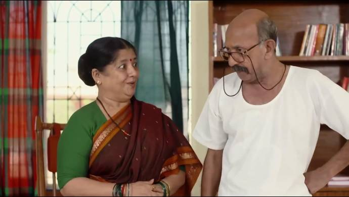 Ajji and Appa from Almost Sufal Sampoorna