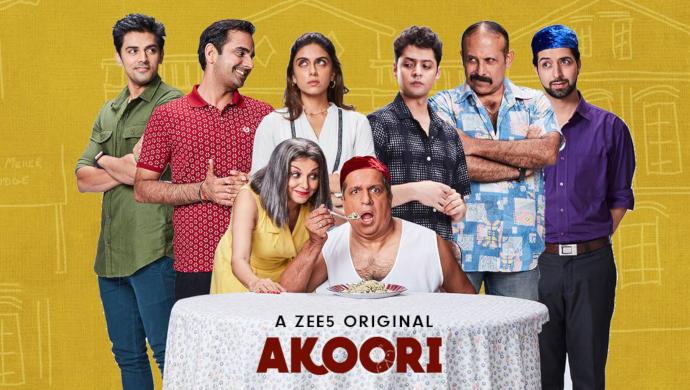 Darshan Jariwala, Lillete Dubey, Shadab Kamal, Zoa Morani, Sohrab Sunny, Adi Irani and Harsh Nagar In The Zee5 Original Series Akoori