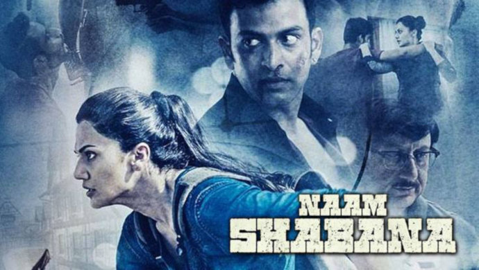 Taapsee Pannu And Anupam Kher In Naam Shabana