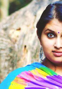 Geetha Bhat From Bramhagantu Posing For A Still