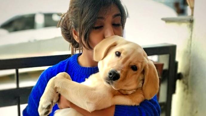 Yashaswini From Kamali And Her Doggo Will Give You Pet Goals