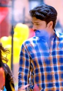 Mayuri Kyatari And Vasishta Simha In A Still From 8MM Bullet