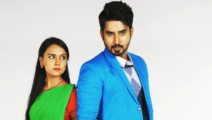 Nisha And Rakshit From Gattimela In A Still