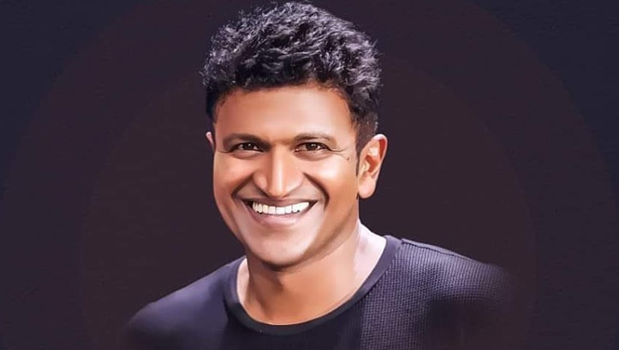 Power Star Puneeth Rajkumar Poses For A Still