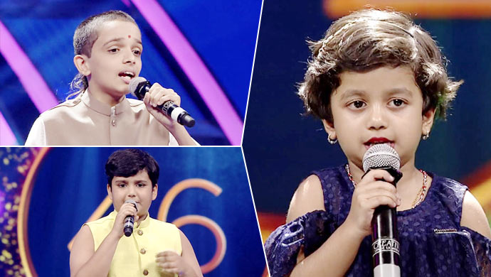 The First Batch Of Selected Contestants In Sa Re Ga Ma Pa Lil Champs Season 16