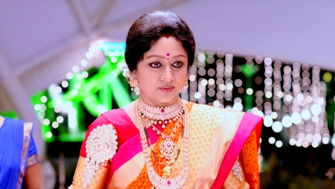 Vinaya Prasad As Akhilandeshwari On The Show Paaru