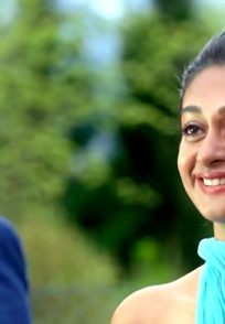 A Still Of Aishwarya Arjun From The Song Prema Baraha