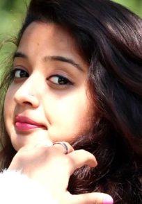 A Still Of Priya Achar Aka Adithi From Gattimela