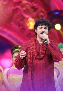 A Still Of Rajesh Krishnan At The Ugadi Swara Sambrahma On Sa Re Ga Ma Lil Champs Season 16