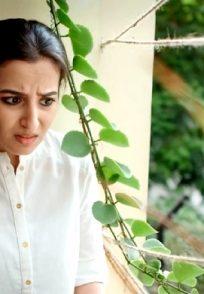 Amrutha Srinivasan In A Still From The Web Series Husi Nagu