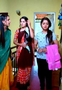 Amulya, Aarthi And Adithi In An Still From The Show