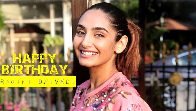 A Smiling Still Of Birthday Girl Ragini Dwivedi