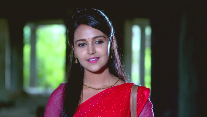 A Still Of Amulya At The Construction Site