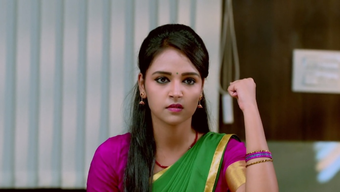 A Still Of Amulya Wondering How To Teach Vedanth A Lesson