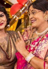A Still Of Annapoorna Mahajan And Her Mommagalu