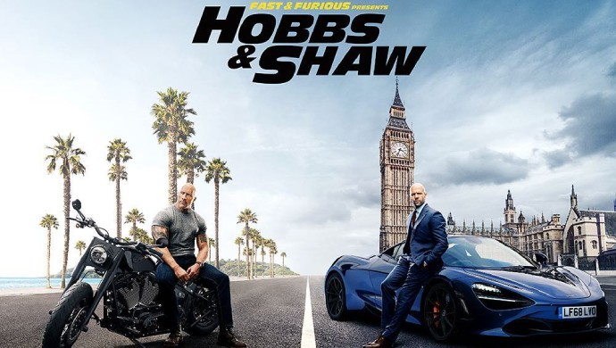A Still Of Dwayne Johnson And Jason Statham In Hobbs And Shaw