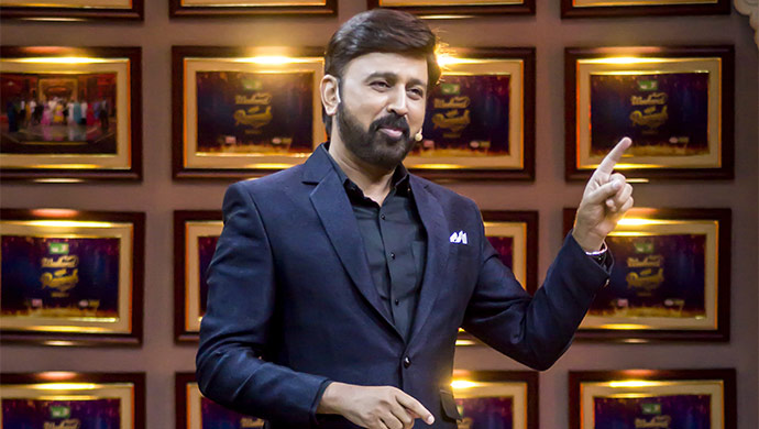 A Still Of Ramesh Aravind On Weekend With Ramesh Season 4