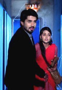A Still Of When Vedanth Saves Amulya