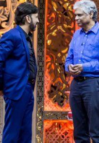 Ramesh Aravind And Prakash Belawadi In A Candid Still From Weekend With Ramesh Season 4
