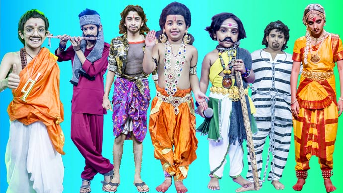The Participants On Sa Re Ga Ma Pa Li'l Champs Season 16 Looked Fantastic Wearing Costumes For Their Songs