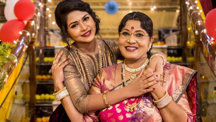 Yes! A Still OF Annapoorna And Her Mommagalu