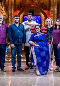 A Group Still Of All The Near And Dear Ones Of Sumalatha Ambareesh