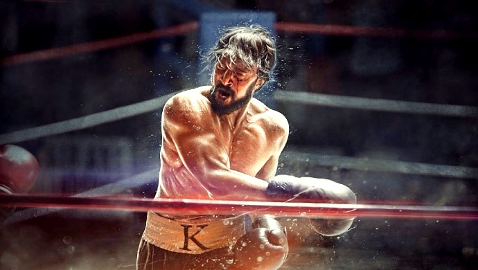 A Still Of Kiccha Sudeep In The Upcoming Film Pailwaan