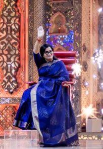 A Still Of Sumalatha Ambareesh On Weekend With Ramesh Season 4