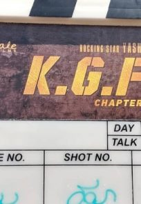 A Still Of The Clapboard Of KGF Chapter 2
