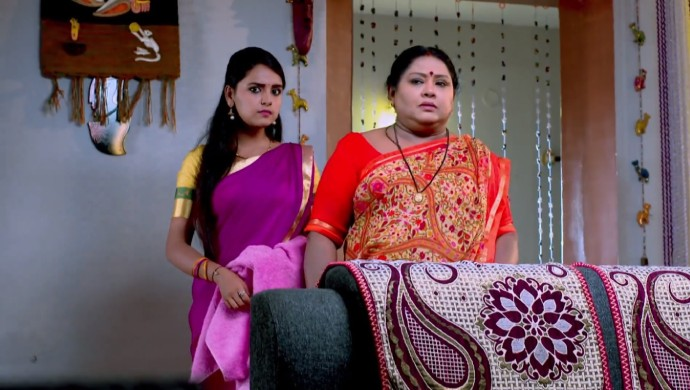 A Surprised Still Of Amulya And Parimala