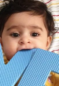 An Adorable Picture Of Ayra Yash