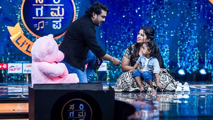 An Exclusive Still Of Arjun Janya, Anushree And Gnana