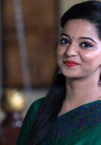 An Smiling Still Of Chaithra Gowda Aka Janaki From Jodi Hakki