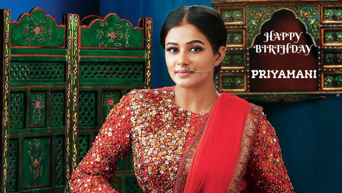 Happy Birthday To The Gorgeous Actress Priyamani