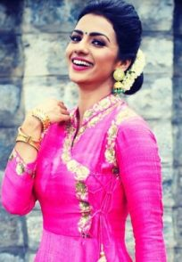 A Smiling Still Of Sruthi Hariharan