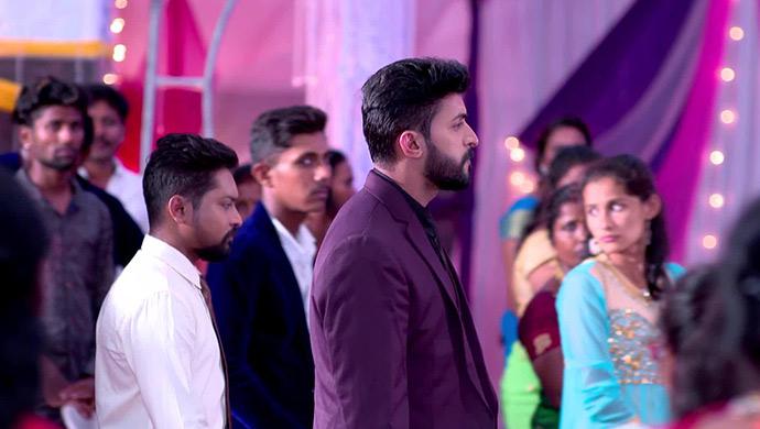 A Still Kantha Walking Behind Aditya