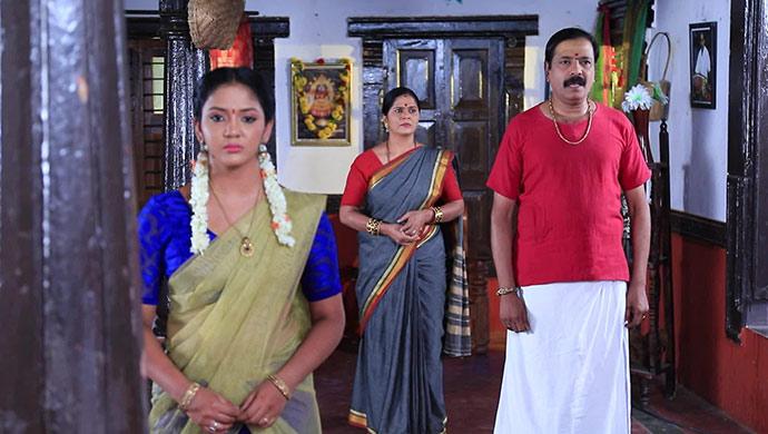A Still Of Hiranmayi, Vaidehi and Vardharaj