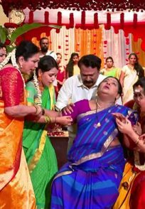 A Still Of Parimala Getting A Heart-Attack