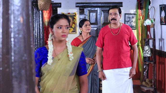 A Still Of The Cast Of Mahadevi