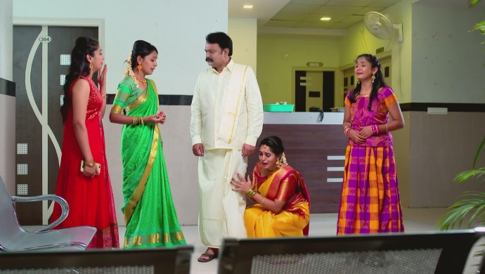 A Still Of When Manjunath Disowns His Daughters