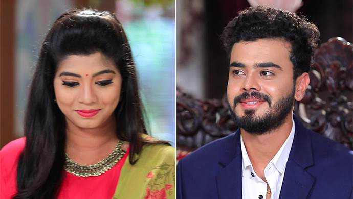 Aishu Blushes As Soon As She Sees Gautham And Vice Versa