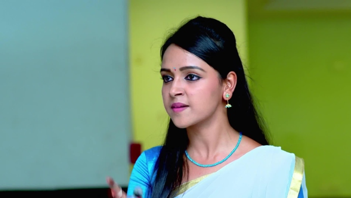 An Angry Still Of Amulya Manjunath